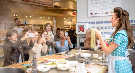 Cooking Class at Eataly