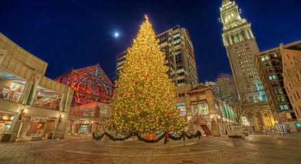 Christmas Lights at Faneuil Hall Marketplace
