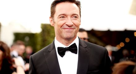 Hugh Jackman Wearing A Suit And Tie