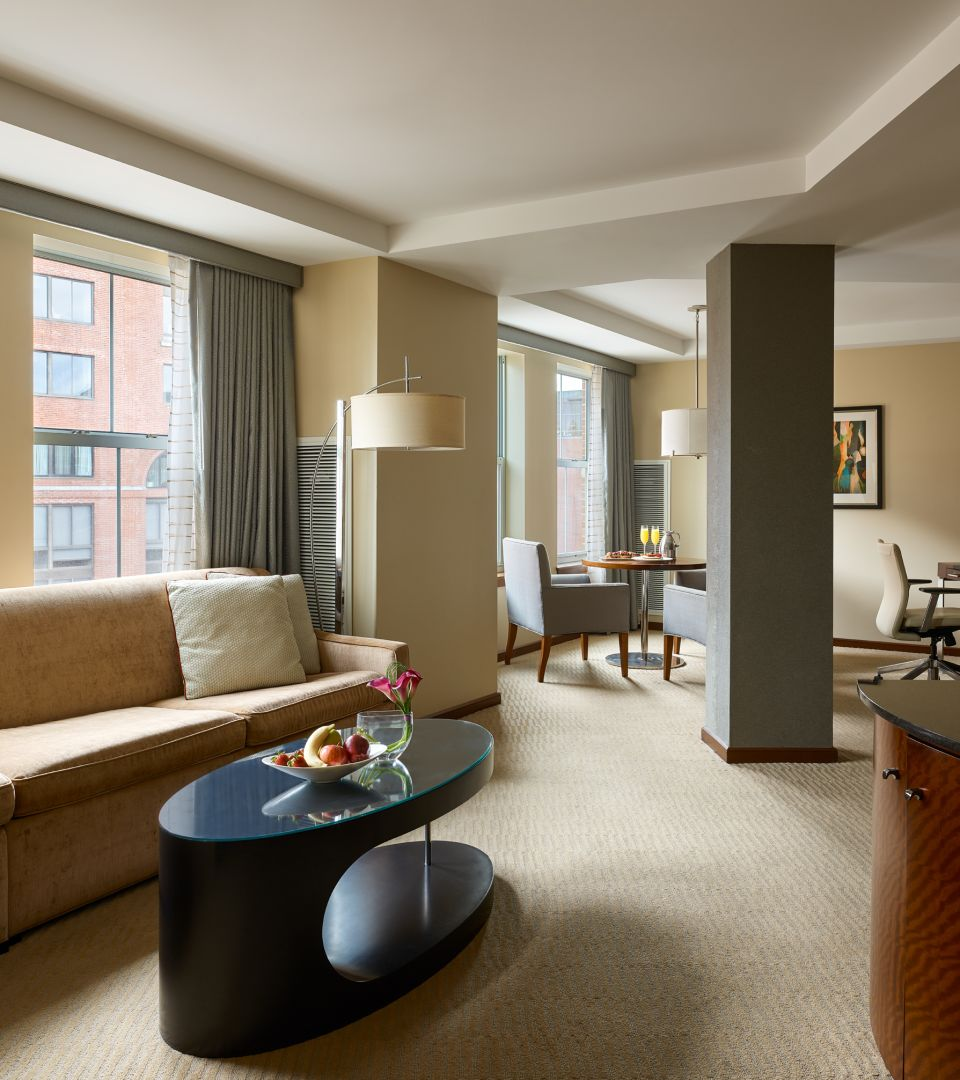 1 bedroom hotel suite - Boston harbor